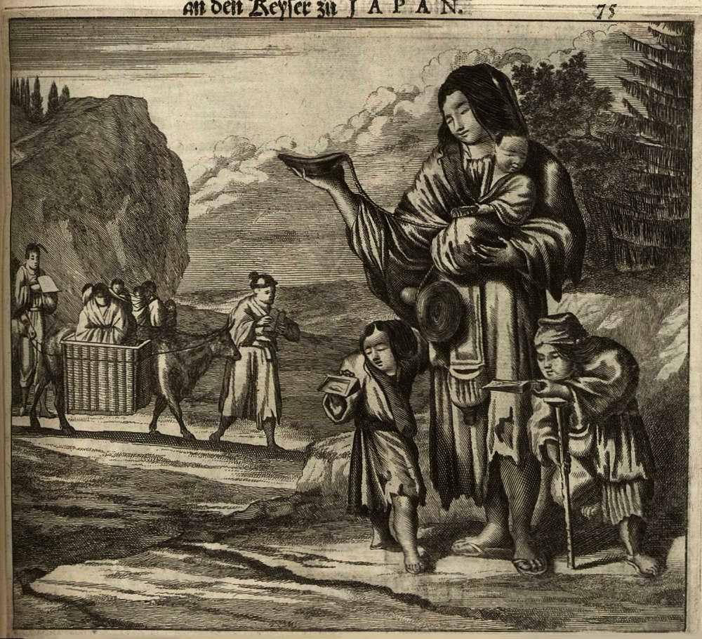 Япония глазами европейцев на гравюрах - 1670 год (14)