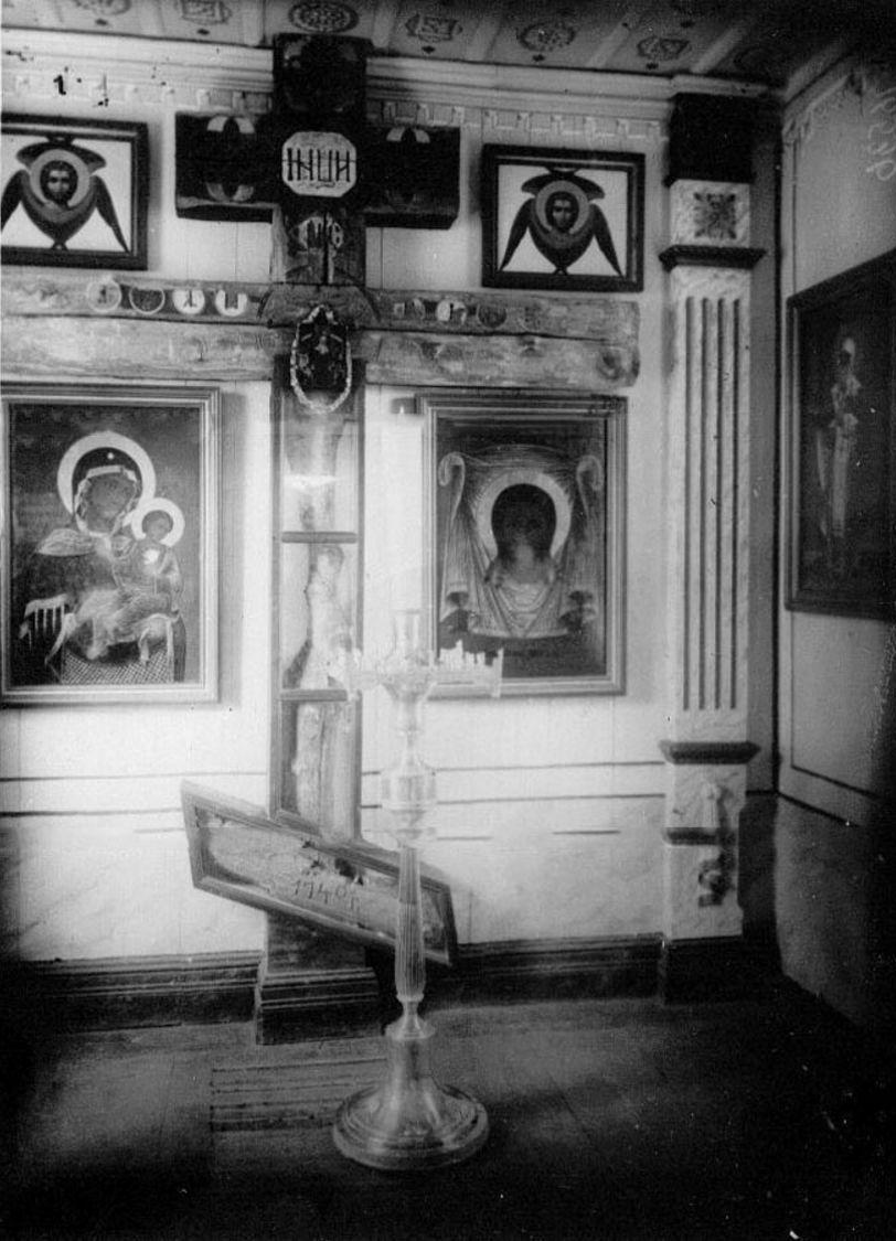 69. Часть интерьера монастырского храма