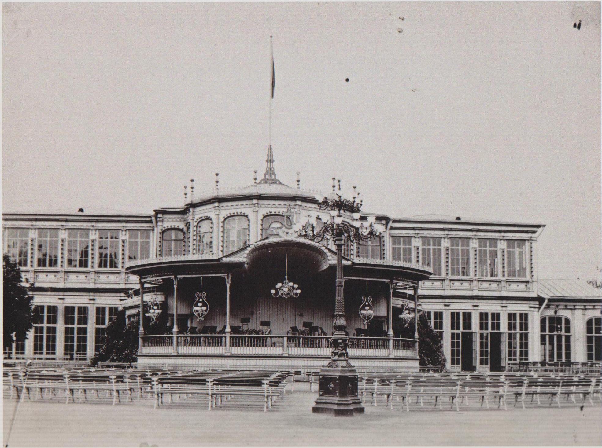 Вокзал. 1890-е