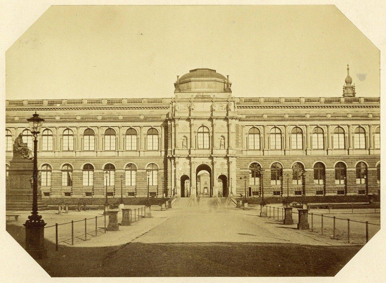 Дрезден. Цвингер. 1855