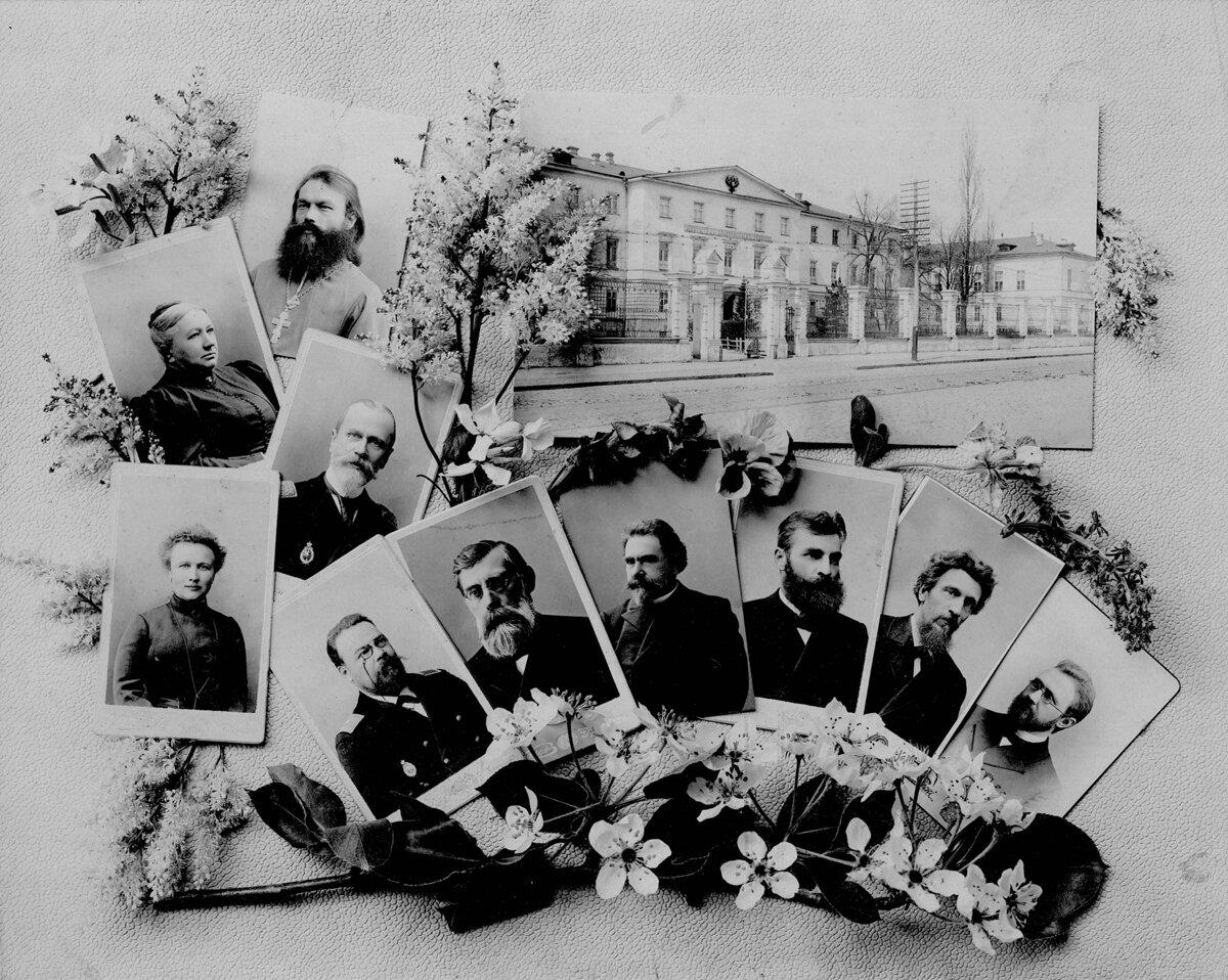 Фотоальбом Харьковского института благородных девиц. 25 мая 1905 года