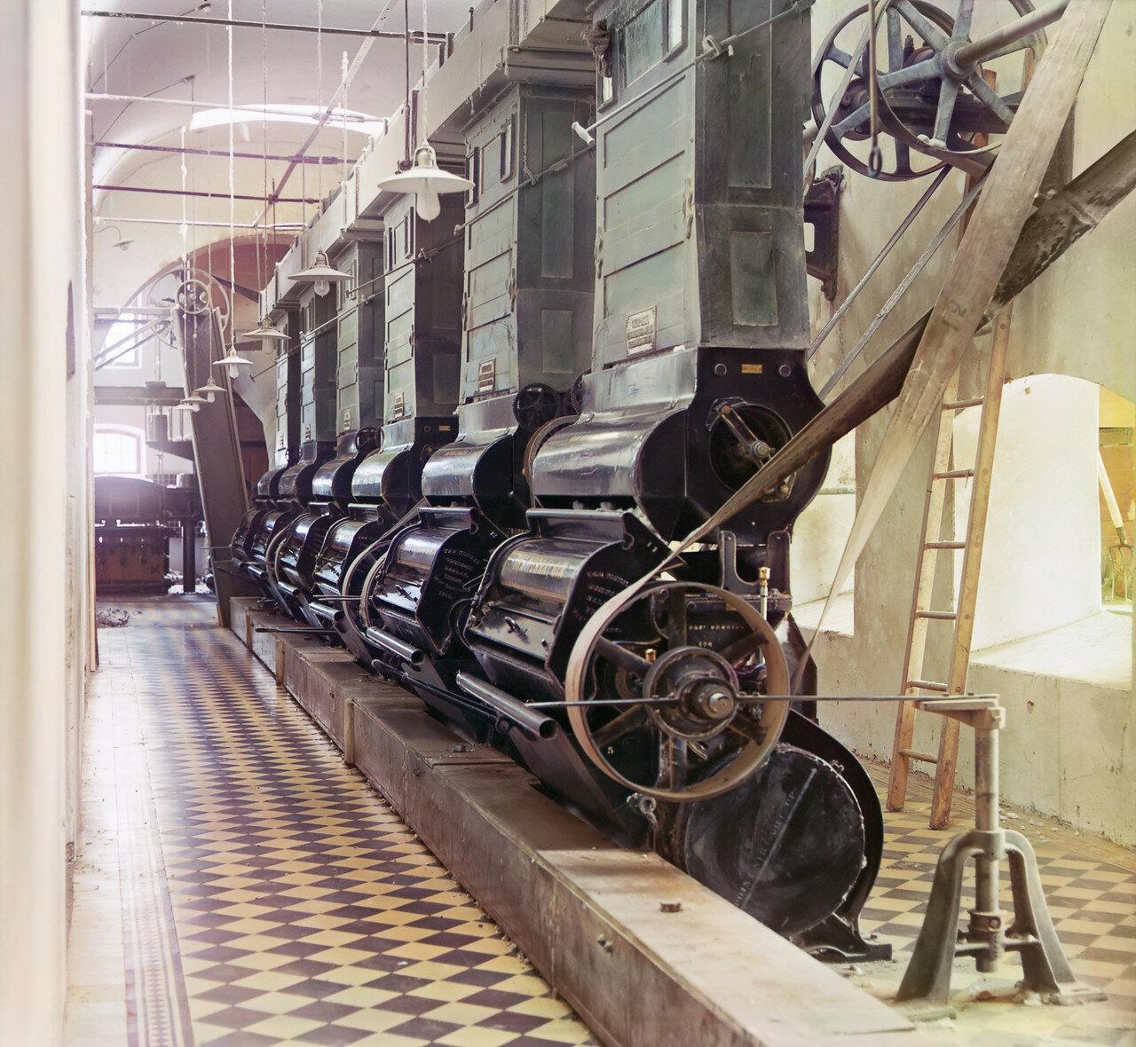 Окрестности Мерва. Байрам-Али. Мургабское имение. Джинное отделение хлопкового завода