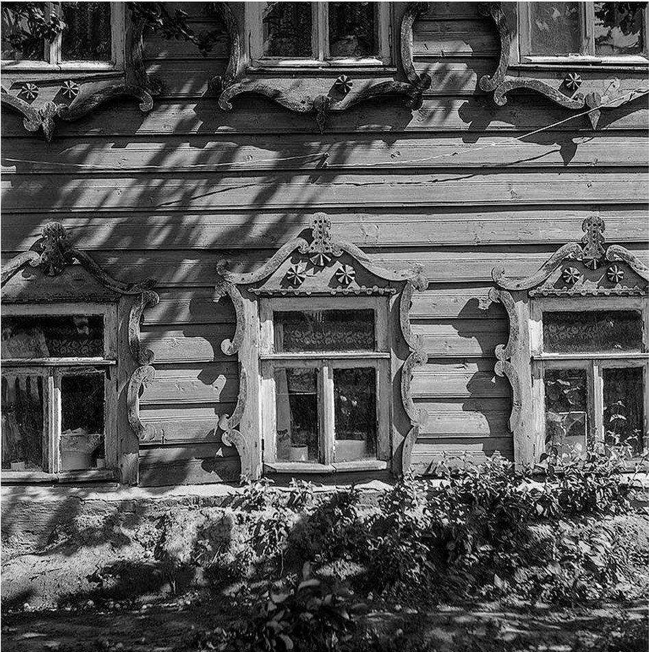 Деревянное барокко. Окна