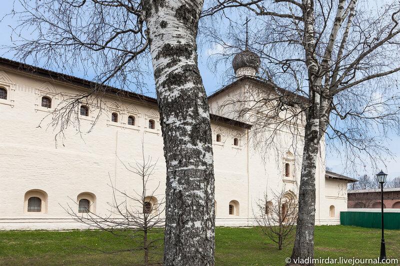 Никольская церковь в Спасо-Евфимиевом монастыре в Суздале