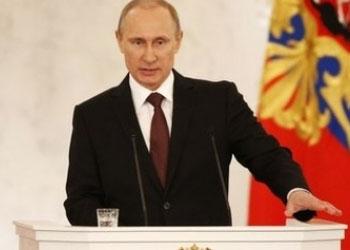 Обращение Путина к Федеральному собранию по ситуации в Крыму