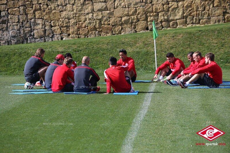 Тренировка красно-белых в Марбелье (Фото)