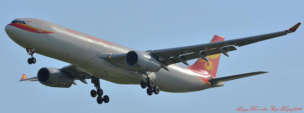 Airbus A330-343X Hainan Airlines