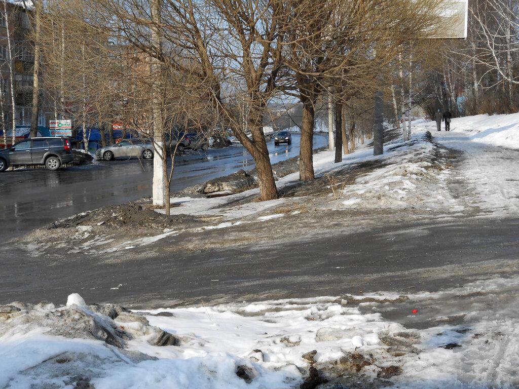 Златоустовская грязь на дорогах