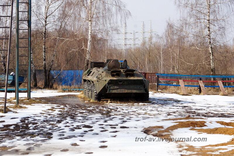 БТР-70, РОСТО Кузьминки, Москва
