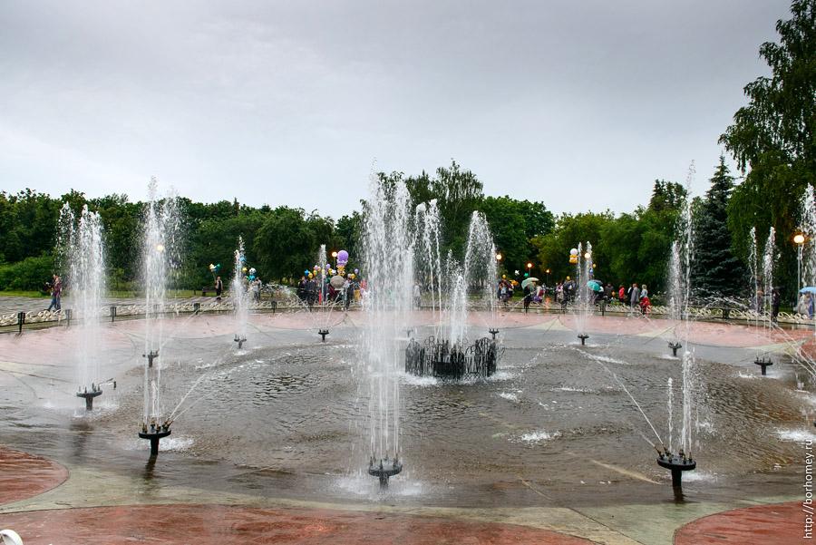 старый фонтан в Сарове