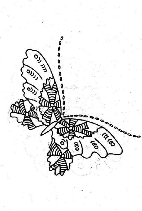 Трафареты - звери, птицы, насекомые