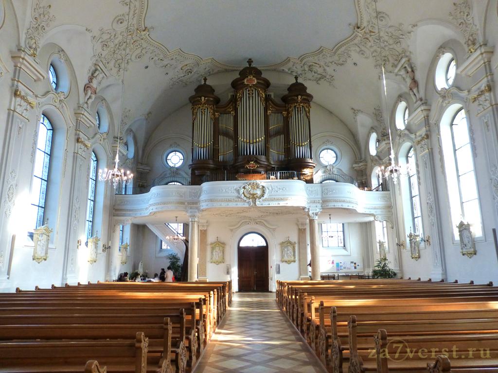 Церковь святого Стефана в Кройцлингене (Швейцария)