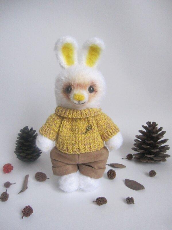 заяц, вязаная игрушка, заяц крючком, авторская работа, игрушка, купить игрушку