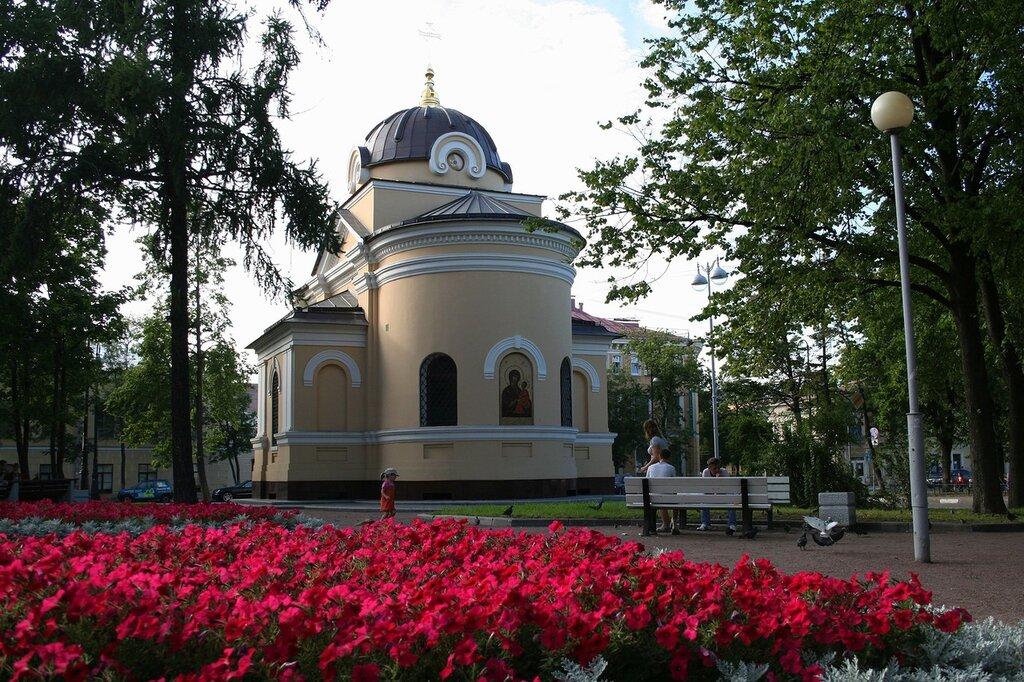 Кронштадт, часовня Тихвинской иконы Божией Матери