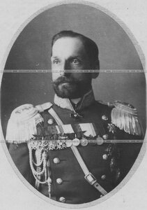 Штаб-офицер в форме (портрет).