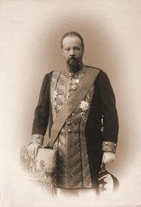 Витте Сергей Юльевич (1849-1915) - граф, министр финансов (1892-1903), председатель Комитета министров (1903-1906), председатель Комитета министров (1903-1906), член Государственного Совета Российской империи (с 1903