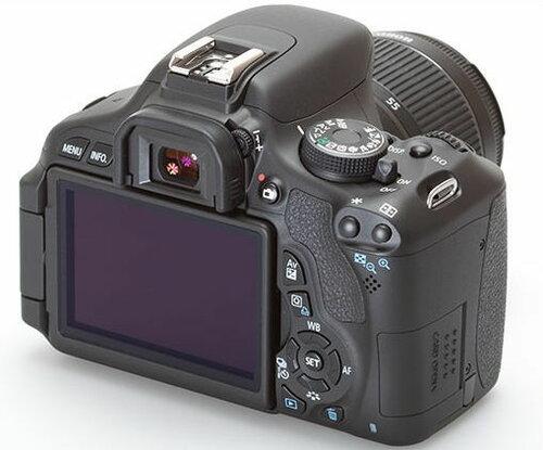 Габариты и механика Canon EOS 600D