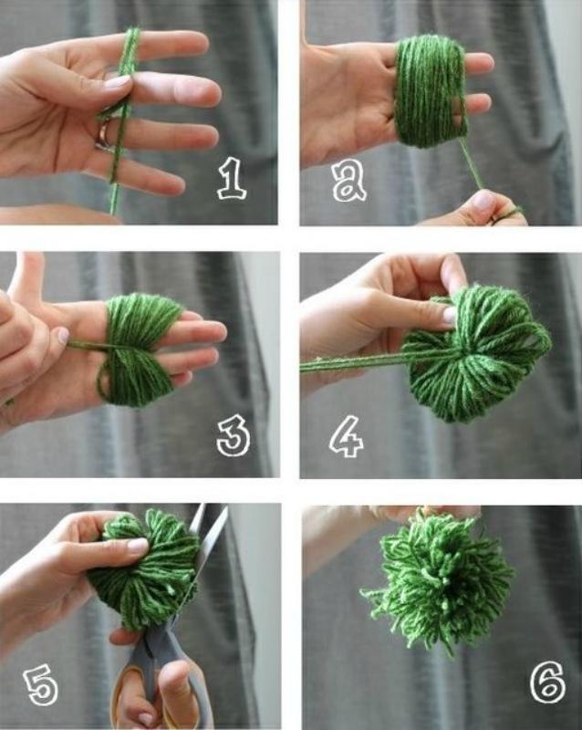 Как сделать помпон