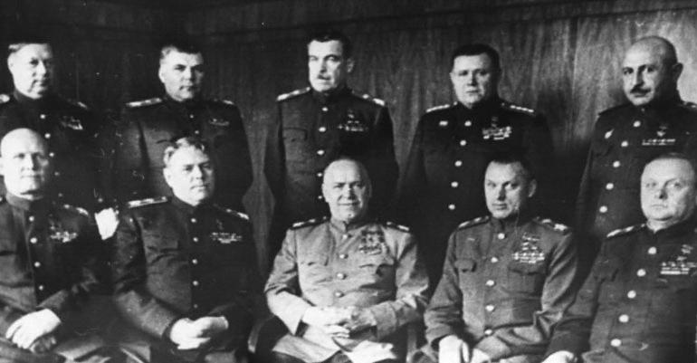 20-Ком. фронтами на заключ. этапе Вел. Отеч. войны. Москва. 1945.jpg