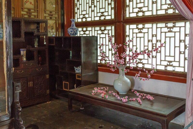 Комната с цветами