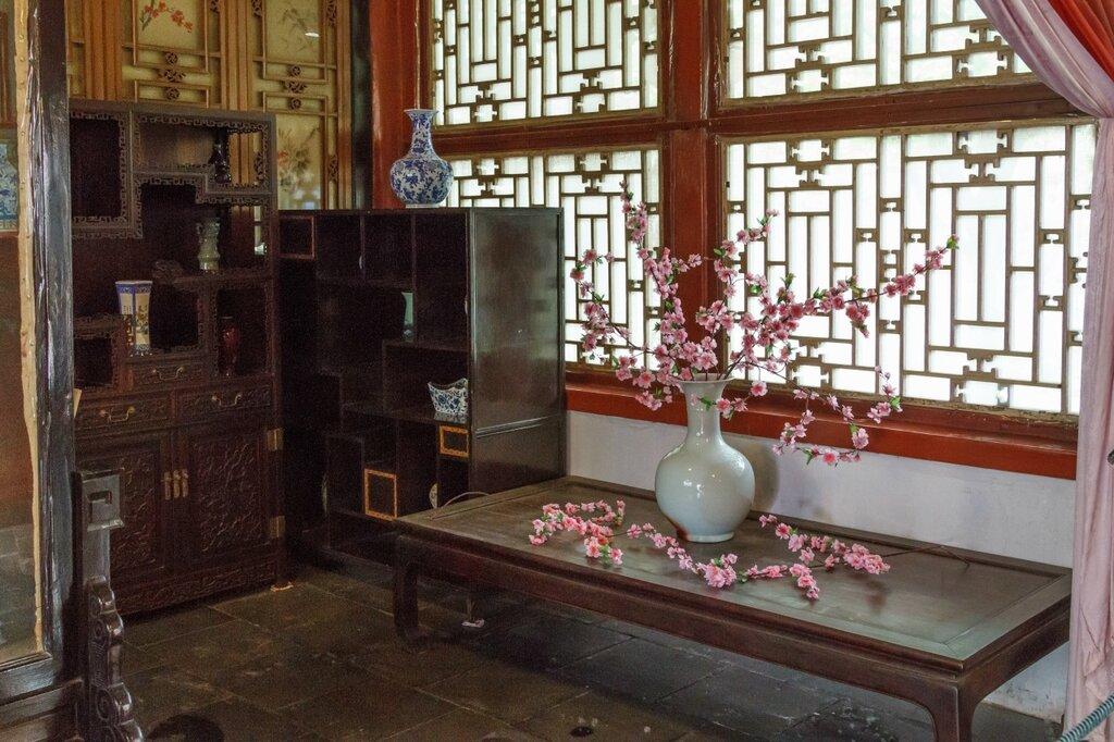 традиционный китайский интерьер, китайская мебель