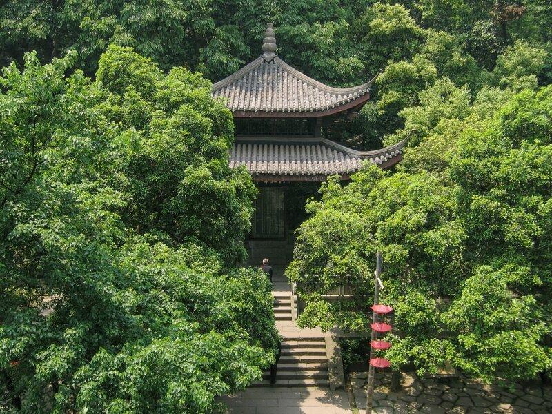 Павильон, Пагода Шести гармоний, Люхэта, Ханчжоу