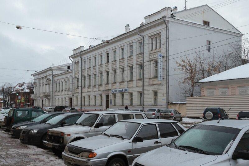 Здание гостевого дома академии Пастухова