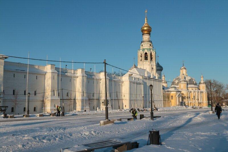 Архиерейский двор (Вологодский Кремль)
