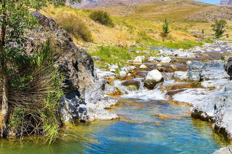 На речке Жылаганата