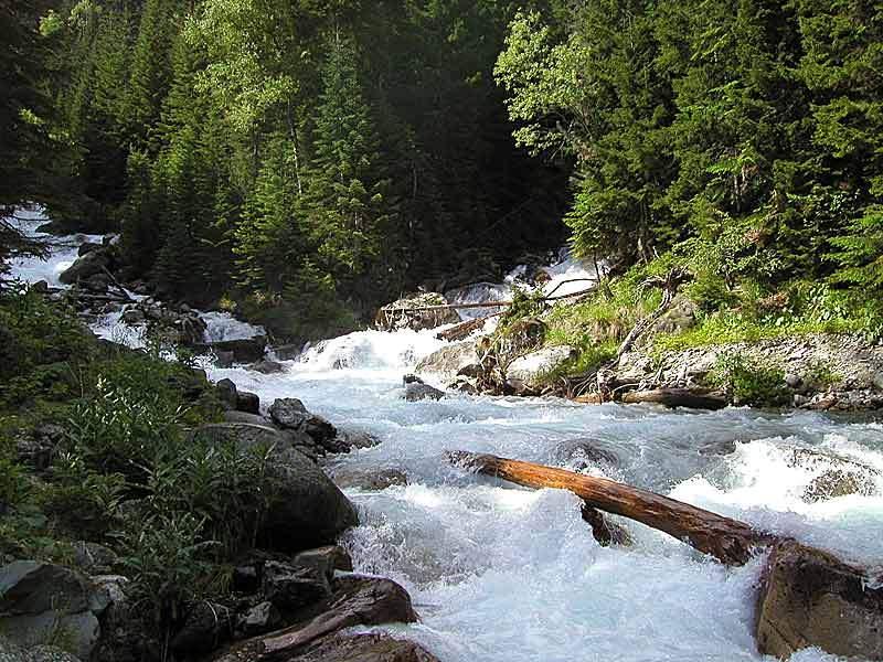 Сплав по реке Теберда