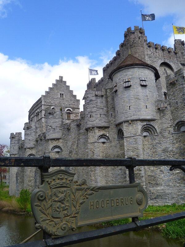 Бельгия, замок в Генте (Belgium Castle in Ghent)