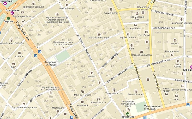 Подписи к объектам на Яндекс.Картах