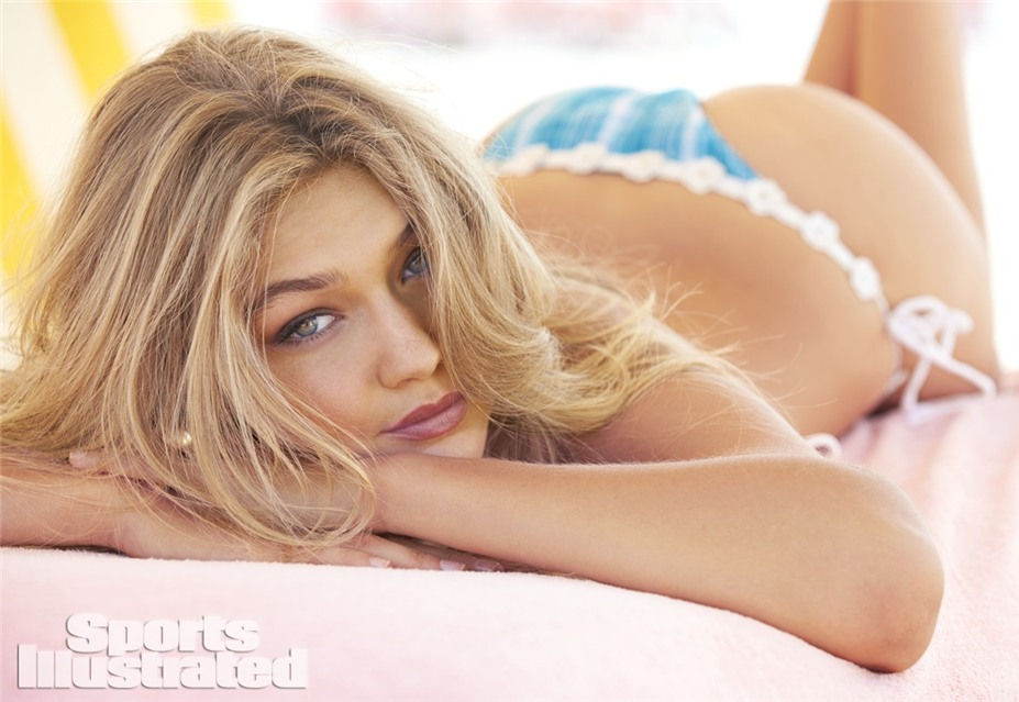 Джиджи Хадид в купальниках Sports Illustrated Swimsuit 2014 - Gigi Hadid by Ben Watts at the Jersey Shore