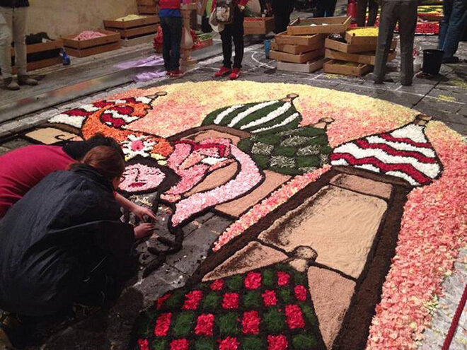 Фестиваль цветов в Ното 2014