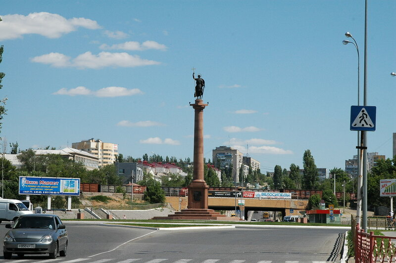 Камышин, горы Уши, Щербаковская балка
