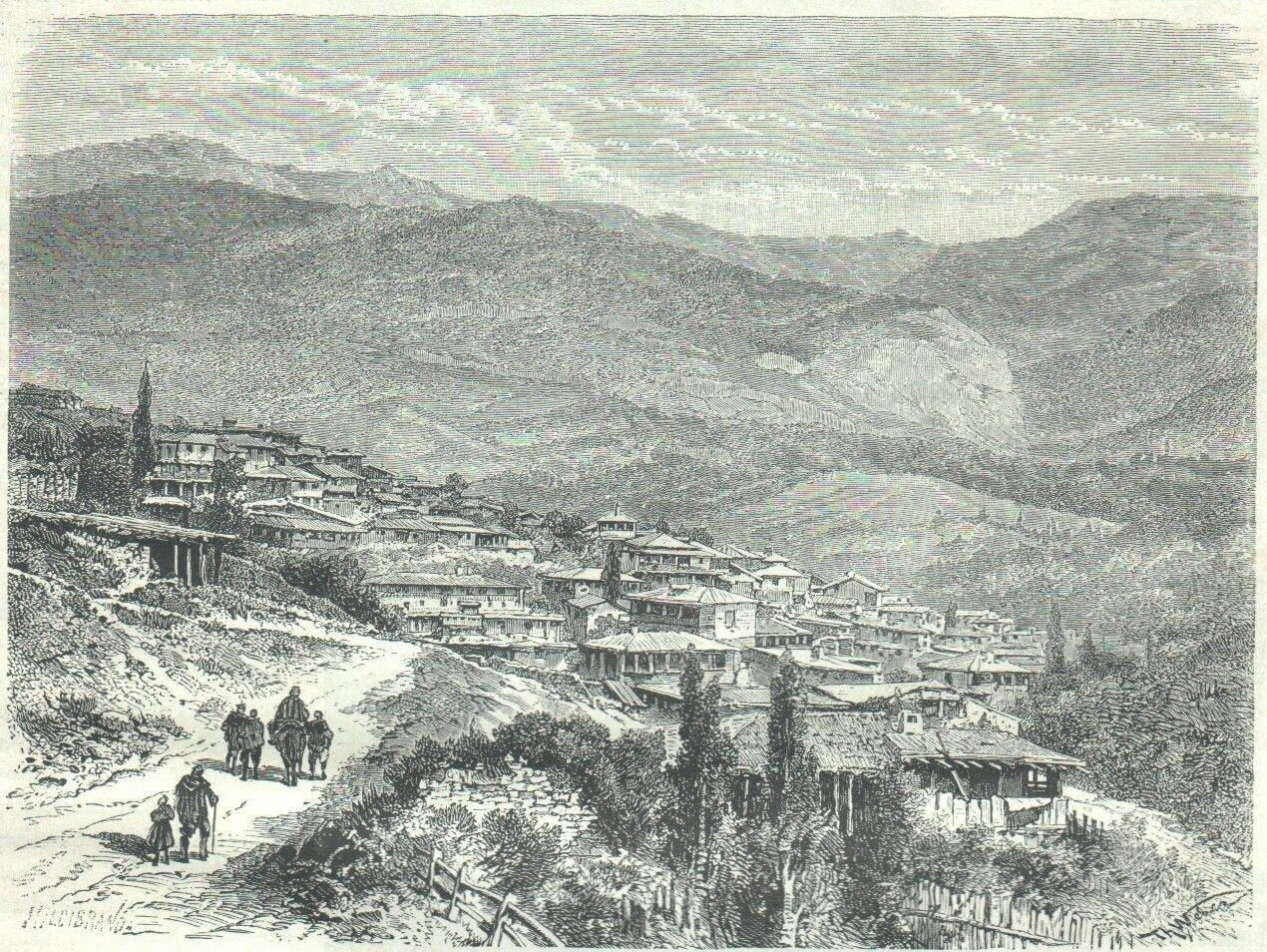 1878. Татарская деревня недалеко от Ялты
