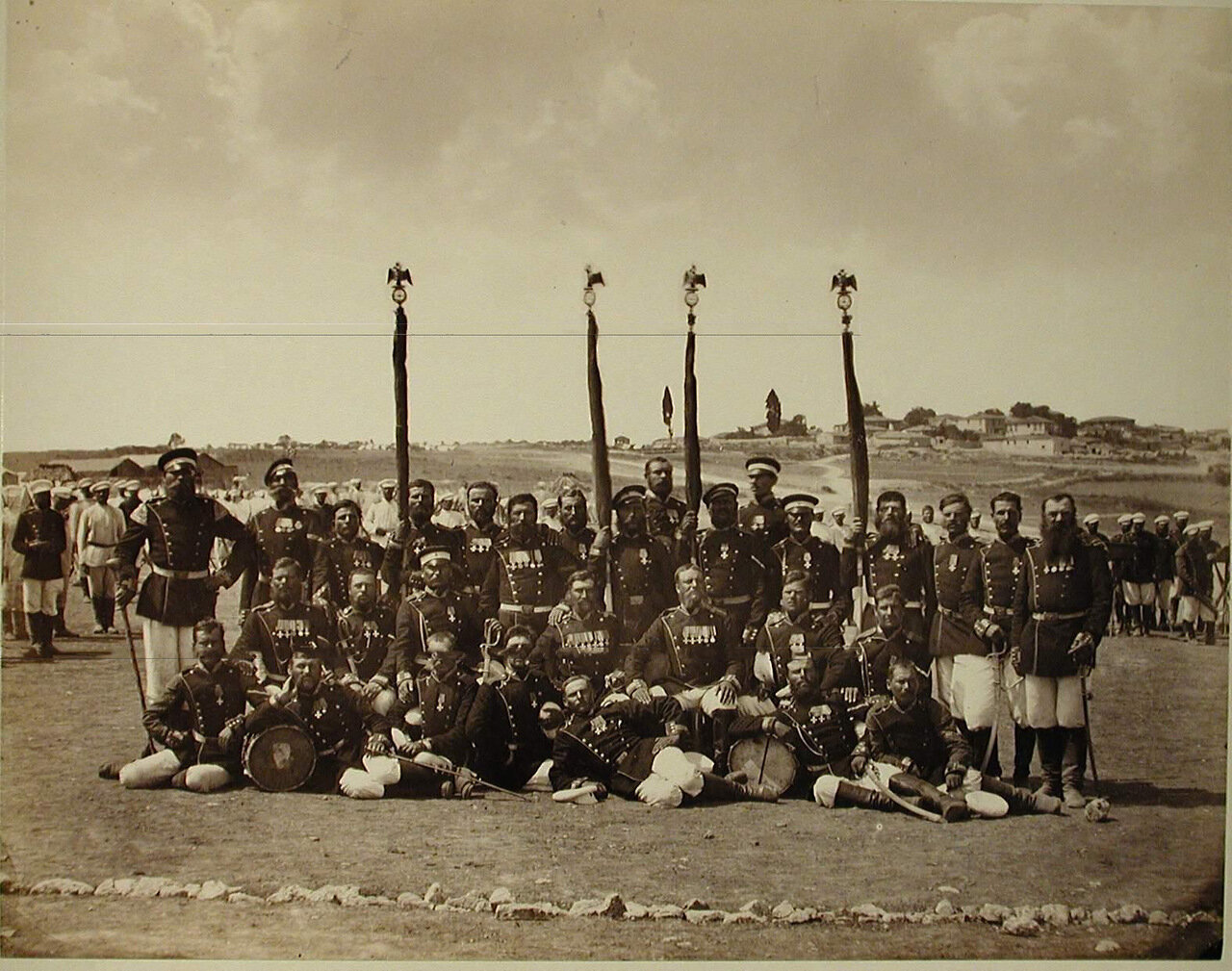 05. Группа фельдфебелей и знаменосцев Лейб-гвардии Измайловского полка. Турция. Сафракиой