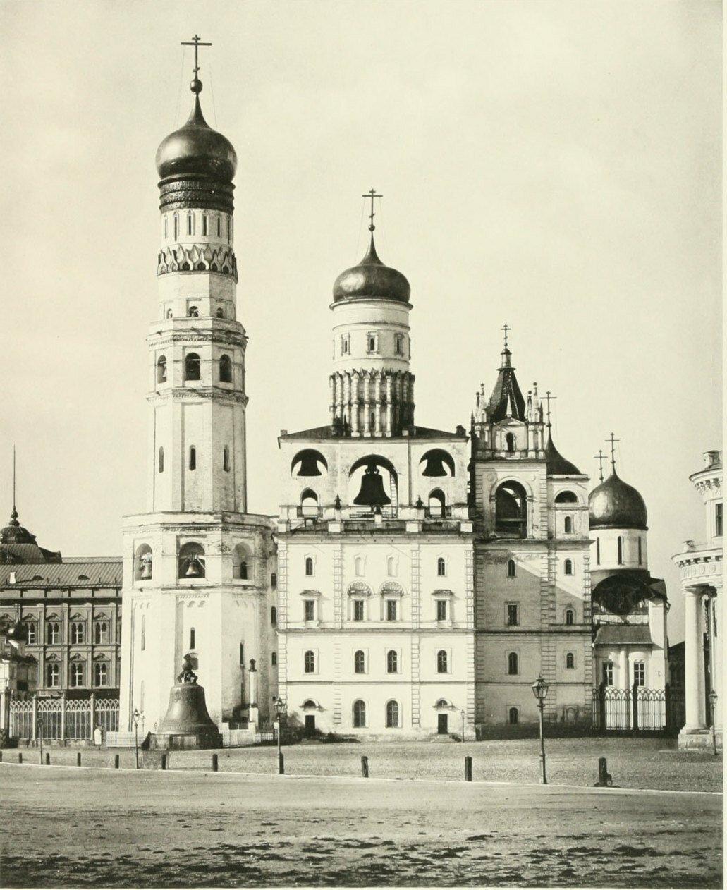 657. Колокольня Ивана Великого в Кремле. 1890