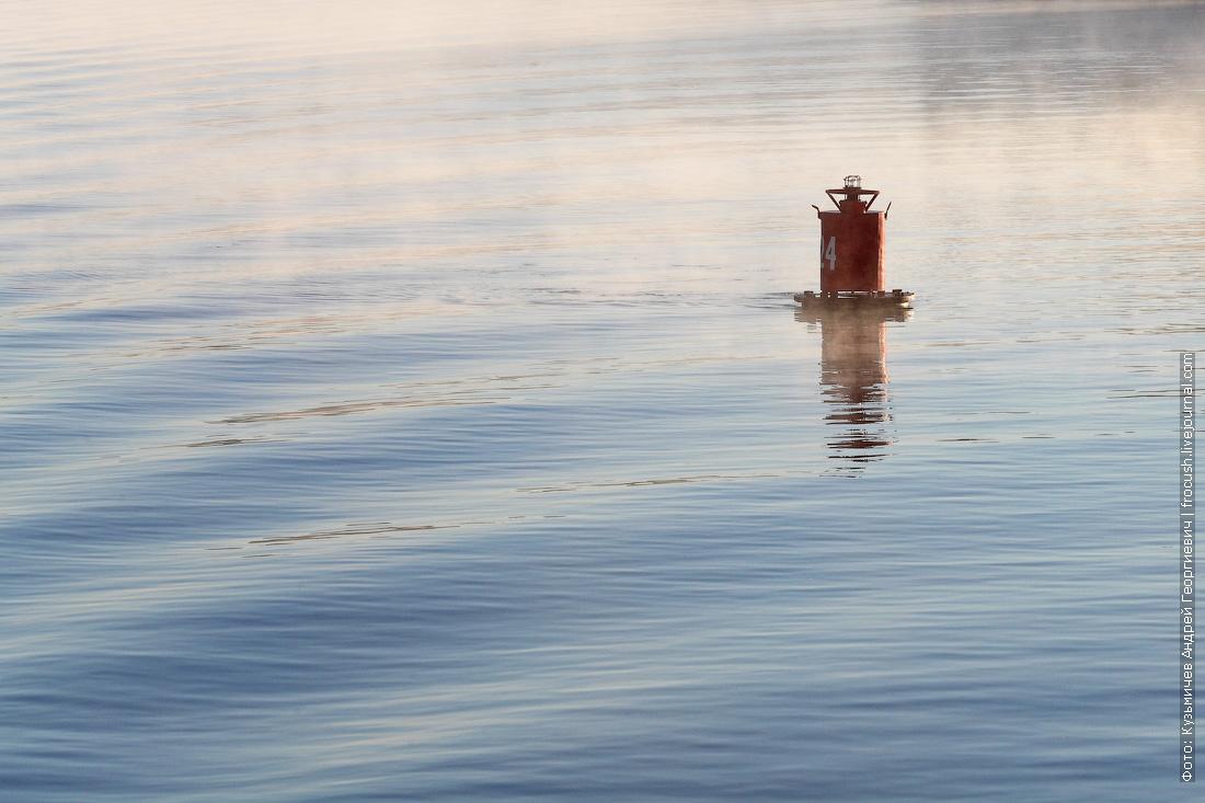 река Дон утренний туман