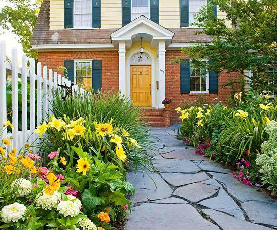 Садовые дворики. Ландшафтный дизайн  - фото 45