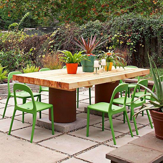 Садовые дворики. Ландшафтный дизайн  - фото 50