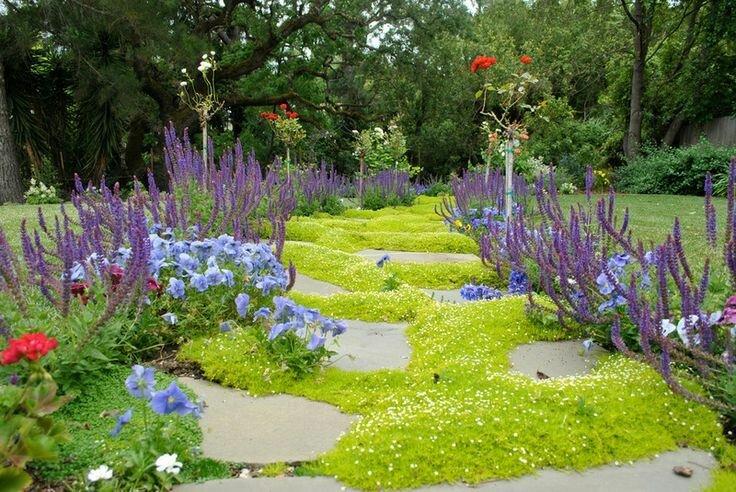 Садовые дворики. Ландшафтный дизайн  - фото 23