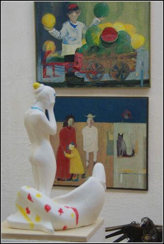 Выставка «Полиреализм 21 век». ВЦСПБСХ.Апрель 2014.