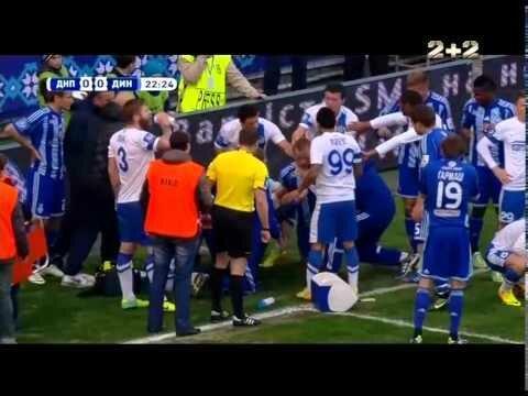 Днепр - Динамо - 0:0. Ужасное столкновение Бойко с Гусевым