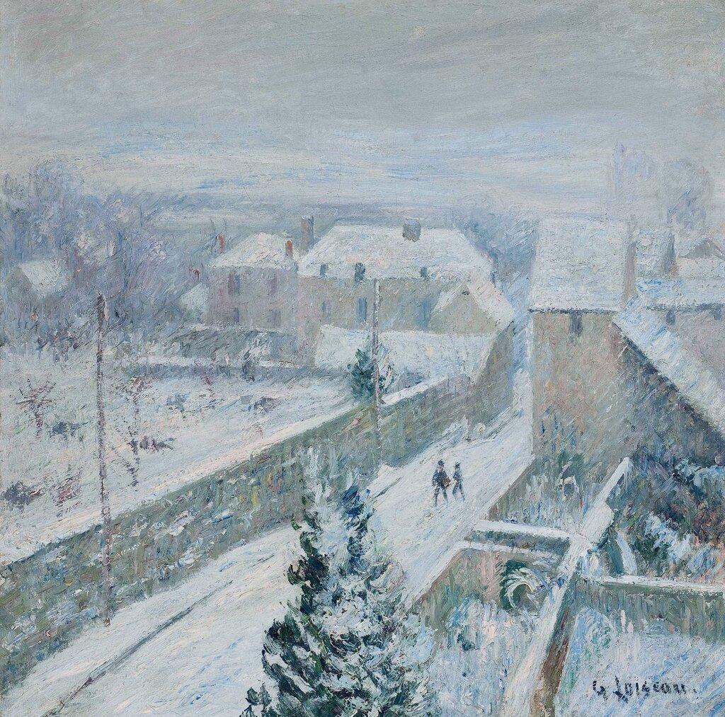 Snow at Triel-sur-Seine, 1917.jpg