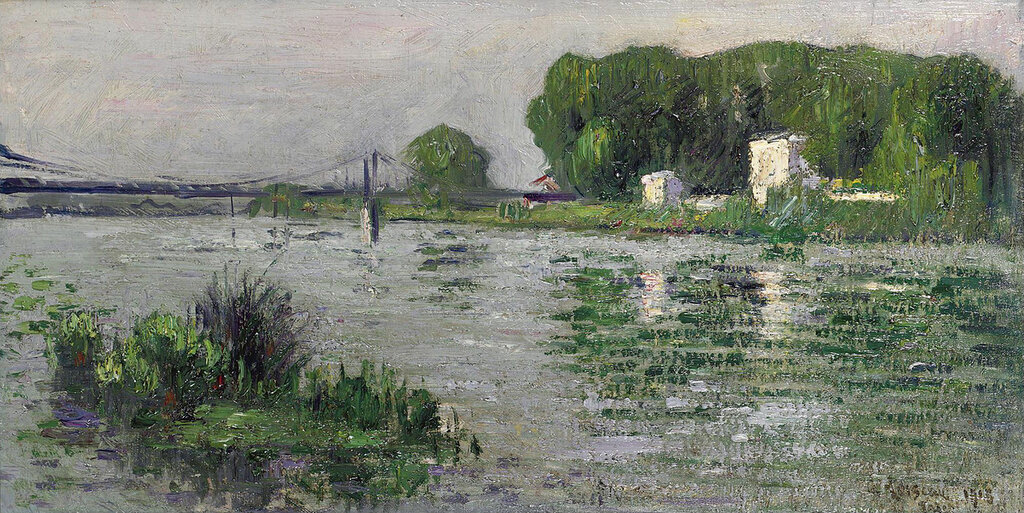 The Banks of the Seine, Triel, 1913.jpeg