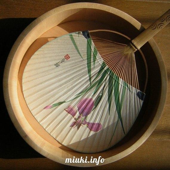 Веер в Японии