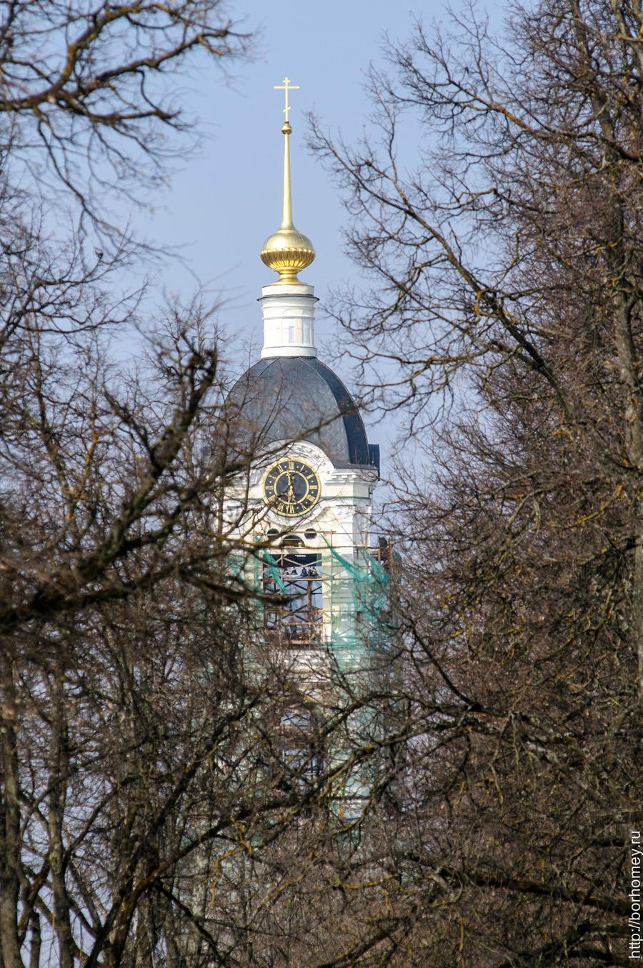 часы на башне в сарове