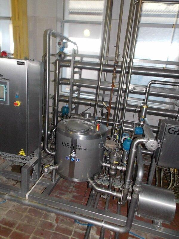 Автоматическое фильтрование обеспечивает очистку молока