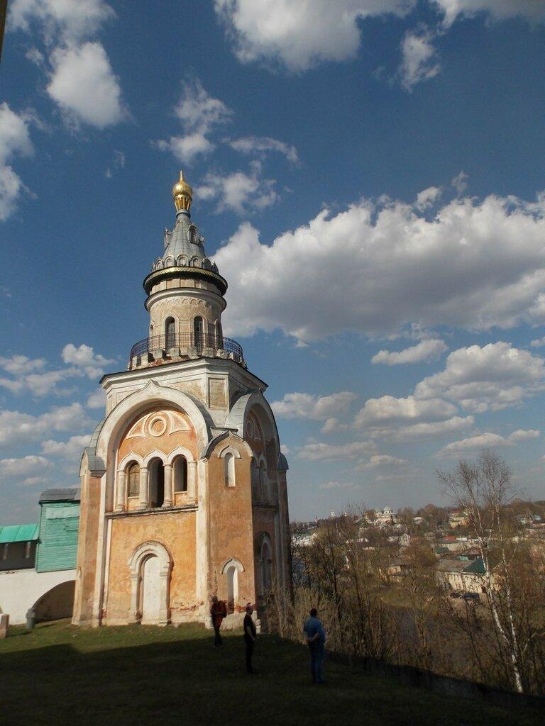 Тверская область. Свечная башня Борисоглебского монастыря